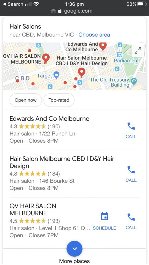 salon google my business 576x1024 - How To Utilize Google My Business To Promote Your Business