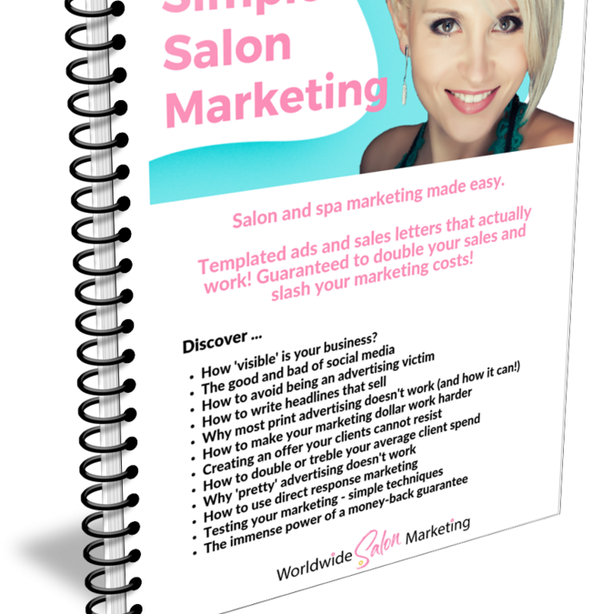 NEW: Revised & Updated Simple Salon Marketing Toolkit for 2018