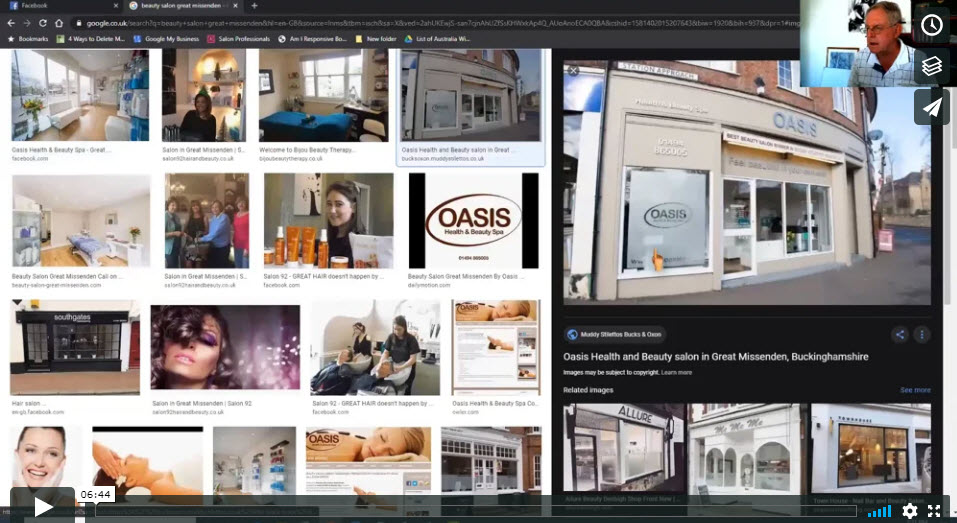 How to check your salon website images are set up the right way