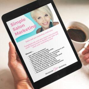 salon business plan and marketing