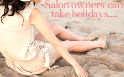 A simple decision – now this salon owners can take holidays…
